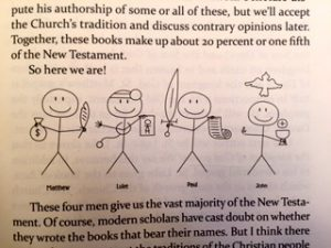 John Bergsma's famous stick figures!