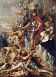 "Peter paul Rubens, ""The Triumph of Judas Maccabee,"" Museum of Fine Artsin Nantes"