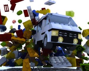 Lego van