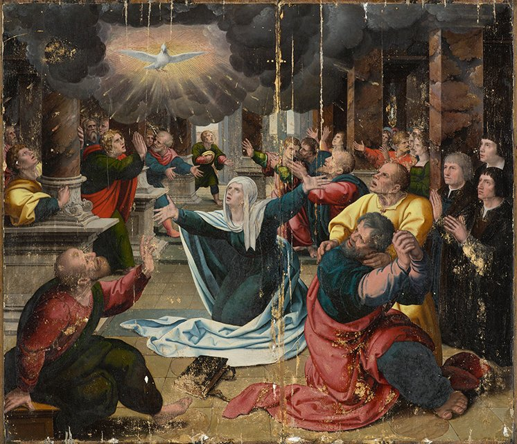 The_Pentecost_by_a_follower_of_Bernard_van_Orley
