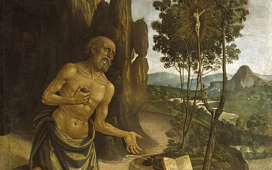 Bernardino_Pinturicchio_-_Saint_Jerome_in_the_Wilderness_-_Walters